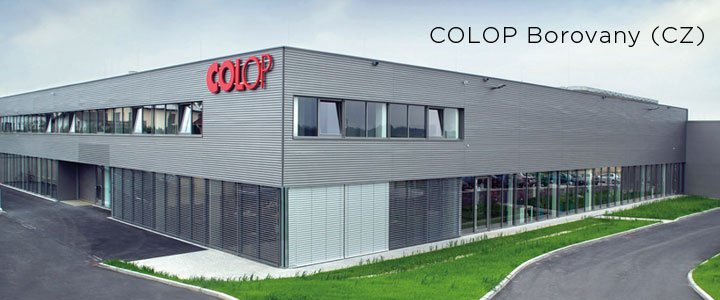 COLOP Borovany, Czech Republic