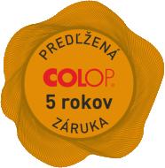 zaruka 5 rokov na pečiatky COLOP || obchodPEČIATOK.sk