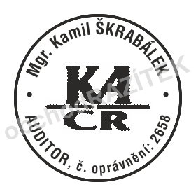 Razítko pro auditory    obchodRAZITEK.cz