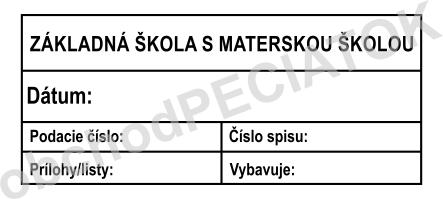 Pečiatka nadobudnutia právoplatnosti vzor 1 || obchodPEČIATOK.sk